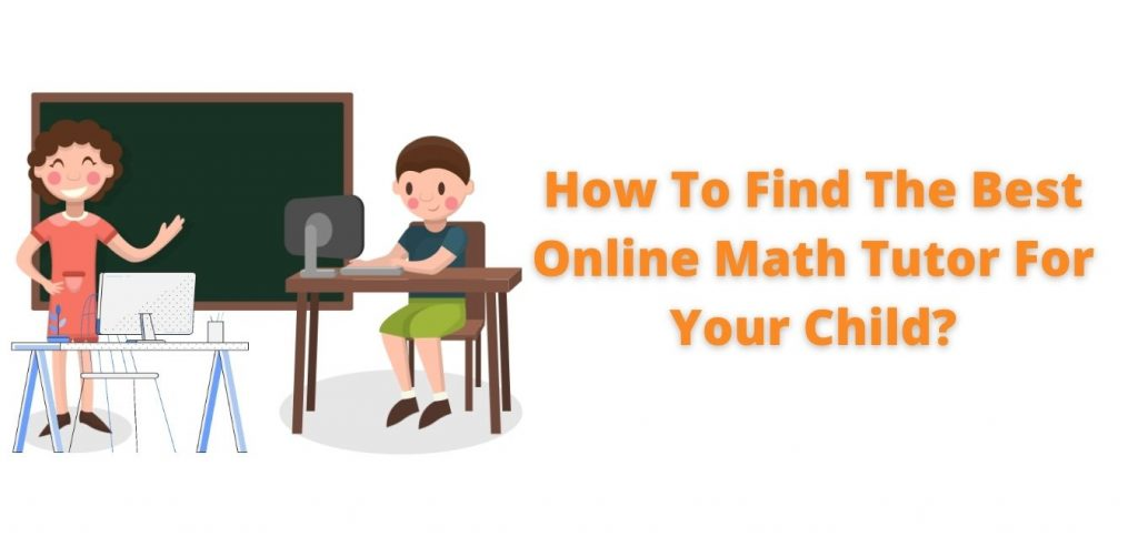 Image banner about online math tutor