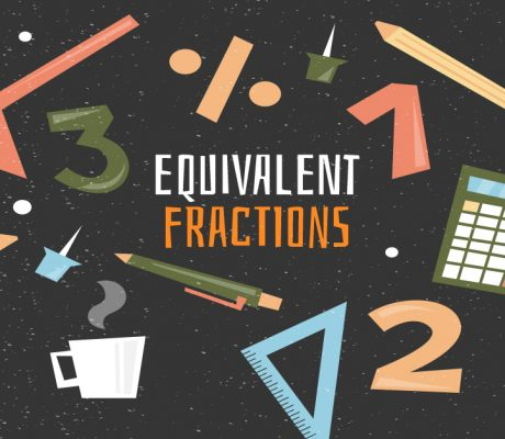Equivalent Fractions Banner by Learn ZOE