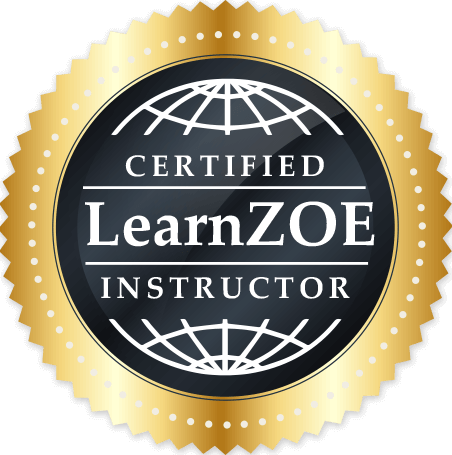 Seal of Certified Learn Zoe Instructor