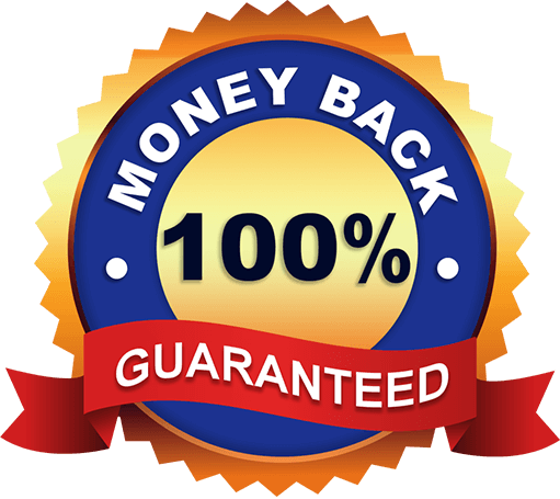 Money Back 100% Guaranteed Seal
